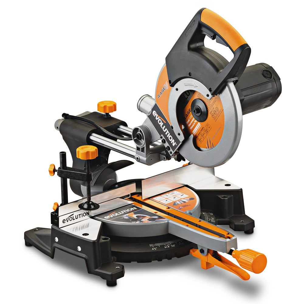 New-Evolution-2000W-255mm-Sliding-Compound-Mitre-Saw-Multi-Purpose-RAGE3