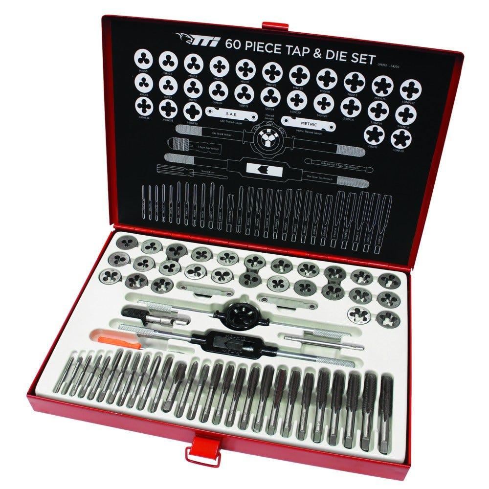 New-TTI-60-Piece-Metric-Tap-amp-Die-Set